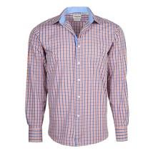 Berlioni Italy Men's & Boys Premium Yarn Dyed Cotton Dress Shirt NEW W/O TAGS