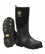 Rubber Work Boot for Men with Steel Shank, Waterproof Anti Slip Muck Hun... - $150.94