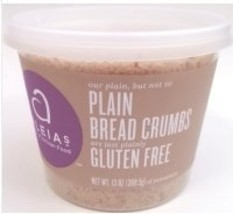 Aleia's Gluten Free Foods Bread Crumbs, Plain, Gf, 13-Ounce Pack of 4