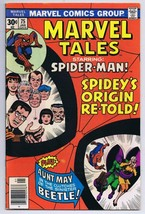 Marvel Tales #75 Spider-Man ORIGINAL Vintage 1977 Marvel Comics Origin R... - $9.49
