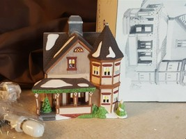 Dept 56 New England Village 1995 THOMAS T JULIAN HOUSE, Brewster Bay 56569 - $19.99