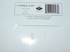 CowParade Cowbell # 9203 Westland Giftware AA-191908 Vintage Collectible image 6