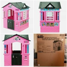 L.O.L. Surprise! Indoor and Outdoor Cottage Playhouse with Glitter - NEW... - $158.39