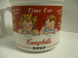 1998 Campbells Soup Collectors Mug Bowl Campbell's Kids HH Vintage Time ... - $11.29