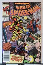 Web of Spider-Man #56 (Nov 1989, Marvel) - $1.48