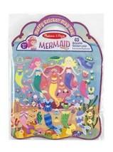 Melissa & Doug Puffy Sticker Activity Book: Mermaids - 65 Reusable Stickers - $12.60