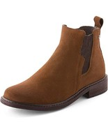Parfeying Ankle Boots, Waterproof Booties, Non-Slip Rubber Sole, Casual ... - $71.47