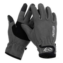 Wind Tour Warm Wind-proof Touch Full Finger Gloves - Grey (XL / Pair) - $20.18 CAD