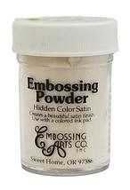 Embossing Arts Co. Embossing Powder, Hidden Color Satin, Copper