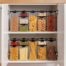 Food Storage Container Transparent Plastic Tank Multigrain Sealed Cans K... - $12.94+