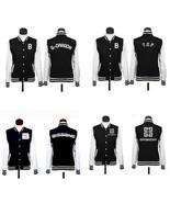 KPOP Baseball Uniform Bigbang SJ SNSD Girls' Generation Lee Varsity Jack... - $15.99