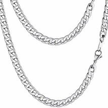 PROSTEEL Stainless Steel Chain,Long,Cuban Link Chain,Vintage Jewelry,Men... - $11.75