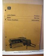 Manual John Deere Baler Twine Knotters Product Service Information 1972 ... - $11.69