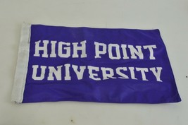 "Panthers High Point University NCAA 11"" X 14""  2-Sided Purple Flag - $12.10"