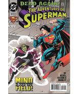 The Adventures of Superman Comic Book #519 DC Comics 1995 NEAR MINT NEW ... - $3.50