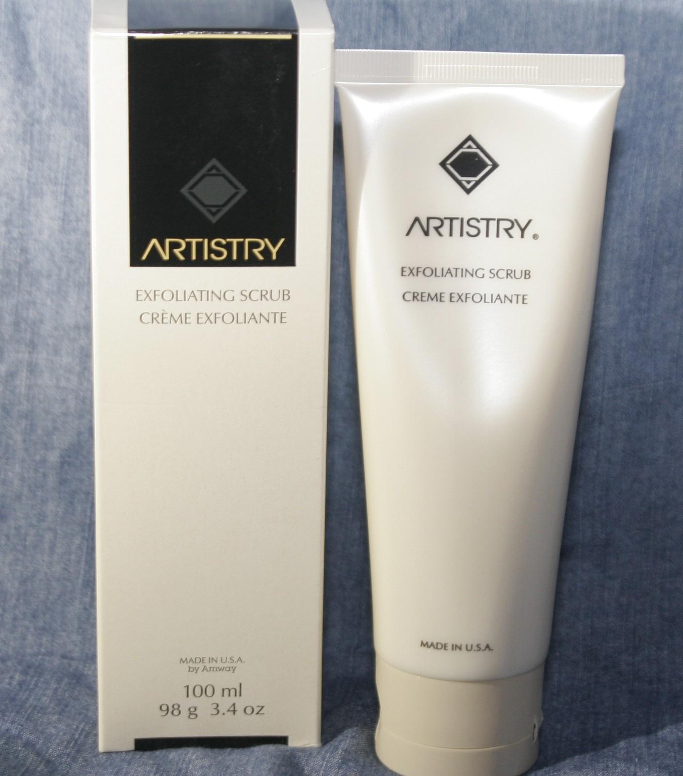 Artistry Skincare System 2 Lot Exfoliating Scrub & Body Refiner Moisturizer NEW - $40.04