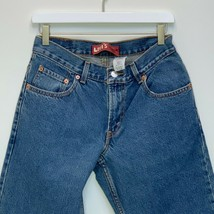 Levi's 550 Boys Relaxed Fit Blue Jeans Size 10 Husky - $29.67