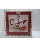 Debbie Mumm Merry Makers Mini Christmas Teapot - Elves - $19.79