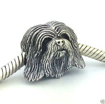 Bark Beads 925 Silver Havanese  Dog Charm, Fits Most Brands, New Made in Usa - $40.13