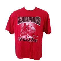 Vintage 1998 Chicago Bulls NBA Finals Champions T Shirt 90s Rodman Air J... - $39.99