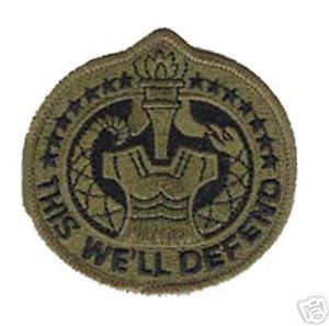 Primary image for US ARMY DRILL SERGEANT DI OD SUBDUED  PATCH