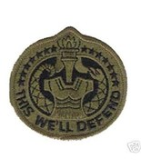 US ARMY DRILL SERGEANT DI OD SUBDUED  PATCH - $13.53