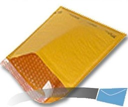 50 7.25x12 Kraft Bubble Mailer Envelope Shipping Sealed Air Uneekmailers... - $15.29