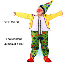 TPDT* ZA 005 Halloween Costumes Kids Children Funny Clown Costume Naught... - £33.99 GBP