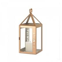Rose Metal Frame Family Lantern - $30.04