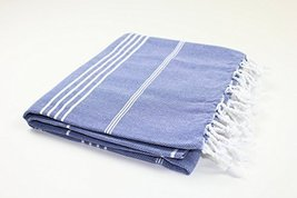 Turkish Towel Fouta Peshtemal for Beach Bath Spa Yoga Hammam Gym Pool Wrap Pareo - $12.13