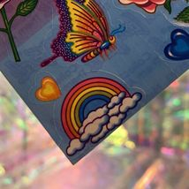 EXCELLENT Condition Vintage 90s Lisa Frank Roses Rainbows Hearts S142 MINT image 5