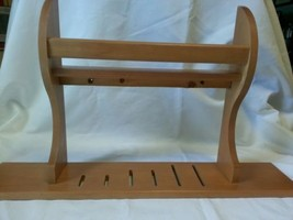 Wooden Knife Rack with Spice Shelf  - $18.00