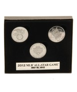 MLB Highland Mint 2012 All-Star Game Commemorative 3 Coin Set - $16.99