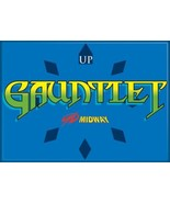 Midway Arcade Game Gauntlet Classic Name Logo Refrigerator Magnet NEW UN... - $3.99