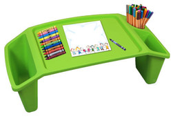 New Basicwise Kids Lap Desk Tray, Portable Activity Table - $15.00