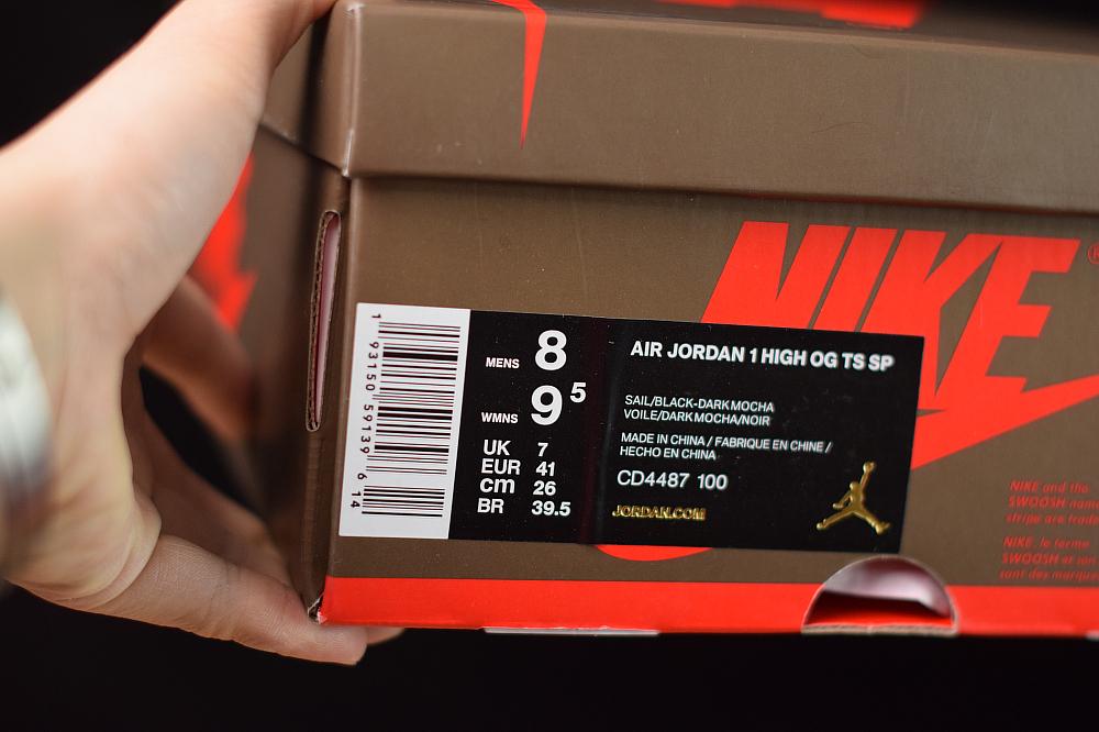 Jordan 1 Retro High Travis Scott Authentic CD4487-100