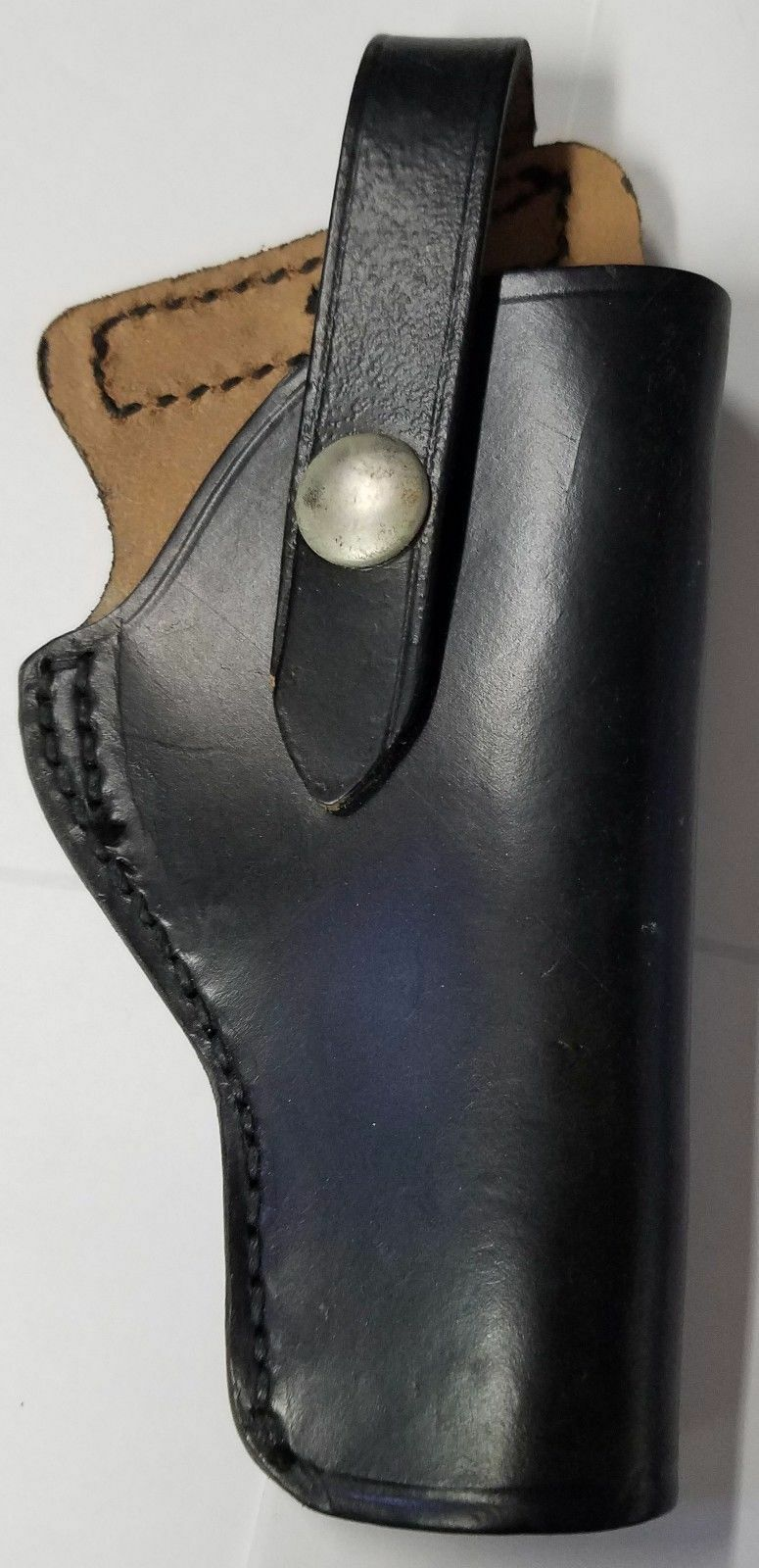 Audley F-3 Leather Right-Handed Holster for most small revolvers