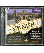 Learn Spanish Now! Transparent Language CD-ROM Version 8 Windows & Macintosh New - $7.84