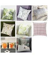 Cushion Bedding Decorative Pillowcase Pillow Leaf Animal Plant Birds Pla... - $15.00