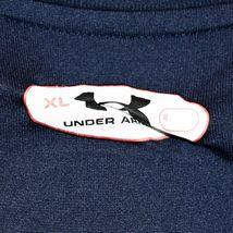 Under Armour Men's Loose HeatGear Notre Dame Volleyball Navy Blue Shirt Size XL image 3