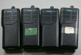 Lot of (4) Tekk T-20 VHF Transceiver Portable Radios *UNTESTED* - $29.69