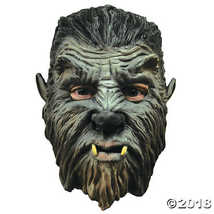 Werewolf Mini Monster Mask Halloween Costume - Most Adults - £31.31 GBP