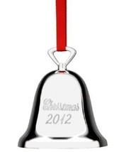 Reed & Barton Christmas 2012 Silverplated Bell - $17.99