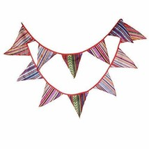 Cotton Banner Bunting Garland for Indian Tents - $14.44