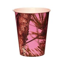 Pink Camo Party Paper Cups - 8 Pack - €7,26 EUR