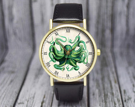 Vintage Octopus Watch | Leather Watch | Ladies Watch | Men's Watch | Gif... - $20.00