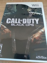 Nintendo Wii Call Of Duty: Black Ops (no manual) image 1