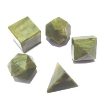 Vasonite Stones Sacred Geometry Sets Gemstone Platonic Solid Top Grade Q... - $5.99