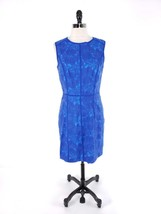 Cynthia Steffe NWT Women Size 8 Dress Floral Embroidered Seamed Blue Kne... - £24.97 GBP