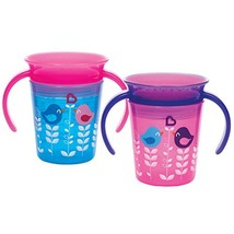 Munchkin Miracle 360 Trainer Cup, Pink/Blue, 2 Count - $16.99